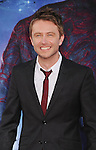 HOLLYWOOD, CA- JULY 21: TV personality Chris Hardwick arrives at the Los Angeles premiere of Marvel's 'Guardians Of The Galaxy' at the El Capitan Theatre on July 21, 2014 in Hollywood, California.