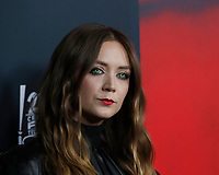"""LOS ANGELES - OCT 26:  Billie Lourd at the """"American Horror Story"""" 100th Episode Celebration at the Hollywood Forever Cemetary on October 26, 2019 in Los Angeles, CA"""