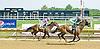 Bunker Hill winning at Delaware Park on 7/9/12