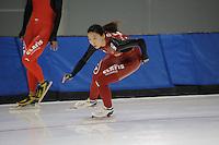 SCHAATSEN: SALT LAKE CITY: Utah Olympic Oval, 12-11-2013, Essent ISU World Cup, training, ©foto Martin de Jong