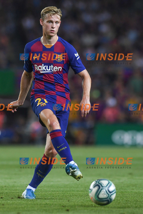 FOOTBALL: FC Barcelone vs Real Betis - La Liga-25/08/2019<br /> De Jong (FCB)