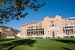 Folsom Field football stadium at the University of Colorado, Boulder, Colorado. .  John leads private photo tours in Boulder and throughout Colorado. Year-round.