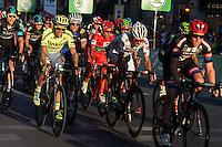 Spanish cyclist Alberto Contador of Tinkof Saxo team and Nairo Quintana during the last stage or La Vuelta of Spain in Madrid. September 10, 2016. (ALTERPHOTOS/Rodrigo Jimenez) NORTEPHOTO.COM