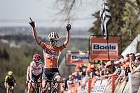 Anna van der Breggen (NED/Boels Dolmans) wins the 21st La Flèche Wallonne Femmes <br /> 1 day race: Huy - Huy (118,5KM)