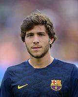 FUSSBALL  INTERNATIONAL  PRIMERA DIVISION  SAISON 2013/2014   10. Spieltag  El Clasico   FC Barcelona - Real Madrid         26.10.2013 Sergi Roberto (Barca)