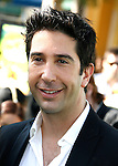 """WESTWOOD, CA. - October 26: Actor David Schwimmer arrives at the premiere of Dreamworks' """"Madagascar: Escape 2 Africa"""" at the Mann Village Theater on October 26, 2008 in Los Angeles, California."""