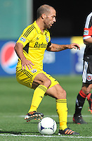 Federico Higuain (33) of the Columbus Crew during the game. The Columbus Crew defeated D.C. United 2-1 ,at RFK Stadium, Saturday March 23,2013.