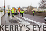 An oil spill in Tralee on Friday morning stretching from St Brendan's Chruch as far as the roundabout up near Kileen.