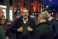 Len McCluskey Election Meeting - Council Cuts Banner (Feb-Mar 2016)