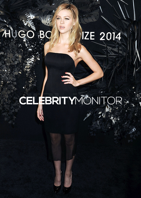 NEW YORK CITY, NY, USA - NOVEMBER 20: Nicola Peltz arrives at the Hugo Boss Prize 2014 held at the Guggenheim Museum on November 20, 2014 in New York City, New York, United States. (Photo by Celebrity Monitor)