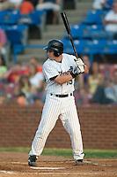 Winston-Salem designated hitter Adam Ricks (15) at bat versus Wilmington at Ernie Shore Field in Winston-Salem, NC, Saturday, June 9, 2007.