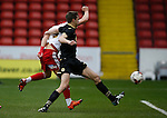 Jake Wright of Sheffield Utd scores the first goal during the Professional Development League match at Bramall Lane Stadium, Sheffield. Photo credit should read: Simon Bellis/Sportimage