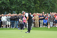 Darren Clarke (NIR) putts on the 11th green during Day 1 Thursday of The Irish Open presented by Discover Ireland at Killarney Golf & Fishing Club on 28th July 2011 (Photo Jenny Matthews/www.golffile.ie)
