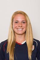 Sydney Payne. U-17 USA Women's National Team head shots on September 16, 2008. Photo by Howard C. Smith/isiphotos.com