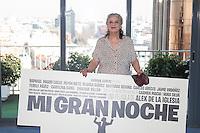 Actress Terele Pavez poses during `Mi gran noche´ film presentation in Madrid, Spain. February 20, 2015. (ALTERPHOTOS/Victor Blanco) /NORTEphoto.com