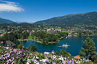 Oesterreich, Kaernten, Millstaetter See, Seeboden: am Westufer des Sees | Austria, Carinthia, Lake Millstatt, Seeboden: at the West banks