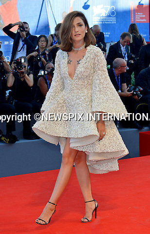 31.08.2016; Venice, Italy: ELEONORA CARISI<br /> atttends &ldquo;La La Land&rdquo; screening at the 73rd Venice Film Festival.<br /> Mandatory Credit Photo: &copy;NEWSPIX INTERNATIONAL<br /> <br /> PHOTO CREDIT MANDATORY!!: NEWSPIX INTERNATIONAL(Failure to credit will incur a surcharge of 100% of reproduction fees)<br /> <br /> IMMEDIATE CONFIRMATION OF USAGE REQUIRED:<br /> Newspix International, 31 Chinnery Hill, Bishop's Stortford, ENGLAND CM23 3PS<br /> Tel:+441279 324672  ; Fax: +441279656877<br /> Mobile:  0777568 1153<br /> e-mail: info@newspixinternational.co.uk<br /> Please refer to usage terms. All Fees Payable To Newspix International
