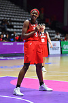 /Stephanie Mawuli (JPN), <br /> AUGUST 15, 2018 - Basketball : Women's Qualification round match between Hong Kong 44-121 Japan at Gelora Bung Karno Basket Hall A during the 2018 Jakarta Palembang Asian Games in Jakarta, Indonesia. <br /> (Photo by MATSUO.K/AFLO SPORT)