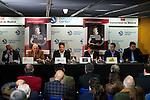 "Presentation of the book ""Carmelo Cabrera, El globertrotter blanco"" at Barclaycard Center in Madrid, March 01, 2016<br /> (ALTERPHOTOS/BorjaB.Hojas"