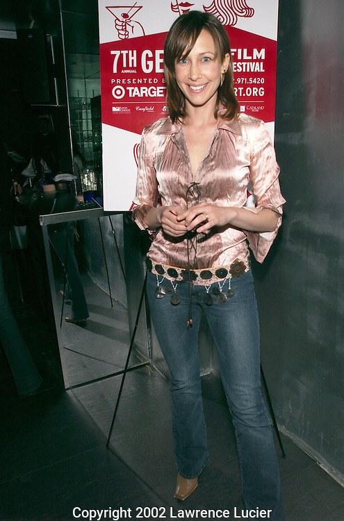 Actress Vera Farmiga arrives at the launch party for the GenArt Film Festival April 24, 2002 in New York City.  The festival features independent films by emerging directors..