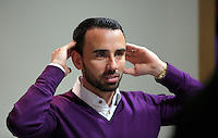 Pictured: Leon Britton Thursday 08 April 2016<br />Re: Zimkids dinner at the Liberty Stadium, Swansea, UK