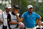 Graeme McDowell (NIR) on the 11th tee on day 1 of the World Golf Championship Bridgestone Invitational, from Firestone Country Club, Akron, Ohio. 4/8/11.Picture Fran Caffrey www.golffile.ie