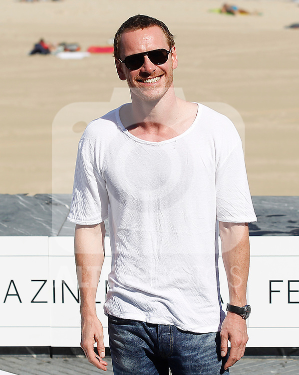 the actor Michael Fassbender during the 59th San Sebastian Donostia International Film Festival - Zinemaldia.September 21,2011.(ALTERPHOTOS/ALFAQUI/Acero)