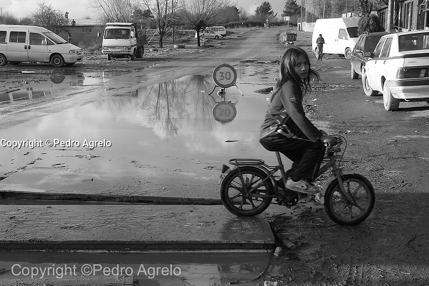 Barrio gitano de O Carqueixo en Lugo