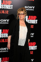 LOS ANGELES, CA - MAR 13: Caroline Aaron at the premiere of Columbia Pictures '21 Jump Street' held at Grauman's Chinese Theater on March 13, 2012 in Los Angeles, California