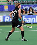 The Hague, Netherlands, June 08: Andy Hayward #5 of New Zealand reacts to scoring a penalty corner (2-5) during the second half during the field hockey group match (Men - Group B) between the Black Sticks of New Zealand and Germany on June 8, 2014 during the World Cup 2014 at Kyocera Stadium in The Hague, Netherlands.  Final score 3-5 (1-3) (Photo by Dirk Markgraf / www.265-images.com) *** Local caption ***