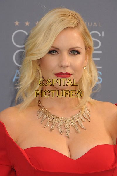 17 January 2016 - Santa Monica, California - Carrie Keagan. 21st Annual Critics' Choice Awards - Arrivals held at Barker Hangar. <br /> CAP/ADM/BP<br /> &copy;BP/ADM/Capital Pictures
