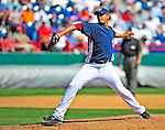 10 March 2009: Washington Nationals pitcher Wil Ledezma on the mound during a Spring Training game against the New York Mets at Space Coast Stadium in Viera, Florida. The Nationals and Mets tied 5-5 in the 10-inning Grapefruit League matchup. Mandatory Photo Credit: Ed Wolfstein Photo