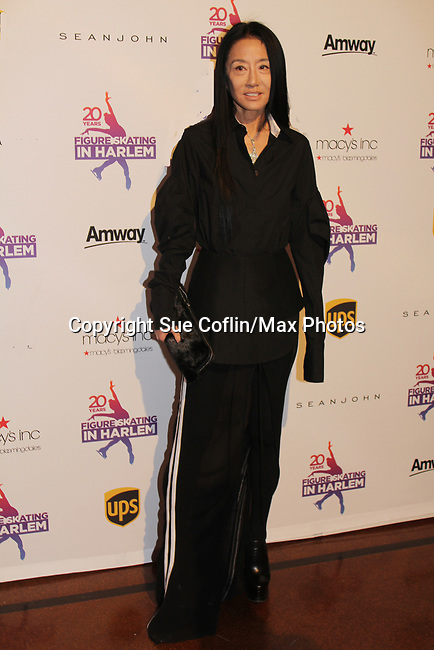 Designer Vera Wang - Figure Skating in Harlem celebrates 20 years - Champions in Life benefit Gala on May 2, 2017 in New York Ciry, New York.  (Photo by Sue Coflin/Max Photos)