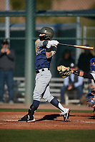Gary Hess during the Under Armour All-America Tournament powered by Baseball Factory on January 18, 2020 at Sloan Park in Mesa, Arizona.  (Mike Janes/Four Seam Images)