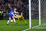 26.02.2020 SC Braga v Rangers: Scott Arfield gets the ball in the net but the linesman flags for offside