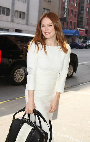 NEW YORK, NY - MAY 9: Julianne Moore at CBS This Morning  in New York City on May 9, 2016. Credit: RW/MediaPunch
