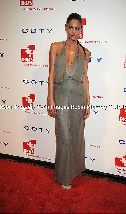 model Leticia Zuloaga  attending The DKMS 5th Annual Gala: Linked Against Leukemia honoring Rihanna and Michael Clinton on April 28, 2011 at Cipriani Wall Street in New York City.