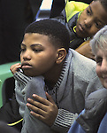 Detail of faces seen attending the Naming Ceremony Event, at the A.J. Williams-Myers African Roots Community Center, at 43 Gill Street, in Kingston, NY, on Saturday, February 18, 2017. Photo by Jim Peppler; Copyright Jim Peppler 2017