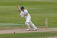 Sam Hain in batting action for Warwickshire during Warwickshire CCC vs Essex CCC, Specsavers County Championship Division 1 Cricket at Edgbaston Stadium on 10th September 2019