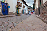 Streets of Cusco, Peru, South America