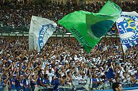 BELO HORIZONTE-MG-14.09.2013- CAMPEONATO BRASILEIRO- CRUZEIRO x ATLETICO PR -Torcida do Cruzeiro durante partida contra o Atletico em partida válida pela 2a. rodada do 2o. turno do campeonato brasileiro no Estádio do Mineirão em Belo Horizonte na noite deste sabado,14-(Foto: Sergio Falci / Brazil Photo Press).
