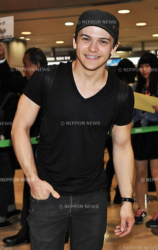 Hunter Hayes, May 12, 2014 : Tokyo, Japan : Singer Hunter Hayes arrives at Narita International Airport in Chiba prefecture, Japan, on May 12, 2014.