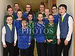 Luascadh an Lú set dancers at the Comhaltas Trad na Samhna show held in the Barbican Centre. Photo:Colin Bell/pressphotos.ie