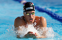 Daniel Gyurta, of Hungaria, competes in the men's 200 meters breaststroke at the Trofeo Settecolli di nuoto al Foro Italico, Roma, 15 giugno 2013.<br /> at the Sevenhills swimming trophy in Rome, 15 June 2013.<br /> UPDATE IMAGES PRESS/Isabella Bonotto