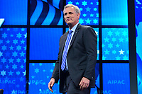 Washington, DC - March 25, 2019: U.S. Representative Kevin McCarthy, House Republican  Leader, enters the stage at the 2019 AIPAC Policy Conference held at the Washington Convention Center, March 25, 2019.  (Photo by Don Baxter/Media Images International)