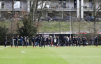 Abschlusstraining - 20.02.2019: Eintracht Frankfurt Training, UEFA Europa League, Commerzbank Arena, DISCLAIMER: DFL regulations prohibit any use of photographs as image sequences and/or quasi-video.
