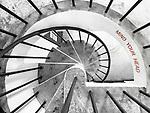Looking Down The Spiral Staircase, Signal Tower At Blackhead Point, Tsim Sha Tsui.