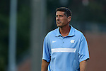 14 August 2015: UNC head coach Carlos Somoano. The University of North Carolina Tar Heels hosted the Winthrop University Eagles at Fetzer Field in Chapel Hill, NC in a 2015 NCAA Division I Men's Soccer preseason exhibition. North Carolina won the game 4-1.