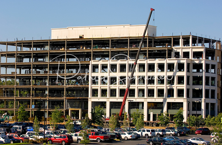 Construction in Whitehall Corporate Center. The center, located at Arrowood Road and I-485, is a part of the master-planned Whitehall community, one of the market?s largest mixed-use projects located in Charlotte?s rapidly growing southwest corridor.