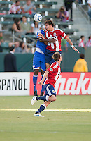 CARSON, CA – SEPTEMBER 19: Chivas USA midfielder Ben Zemanski (21) during a soccer match at Home Depot Center, September 19, 2010 in Carson California. Final score Chivas USA 0, Kansas City Wizards 2.